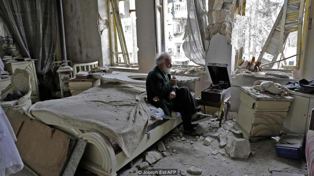 Darrell Calkins blog, Photo from Aleppo by Joseph Eid